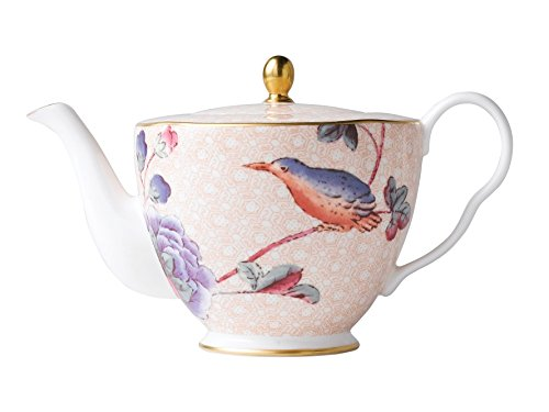 Wedgwood Harlequin Cuckoo Tea Story 12-1/2-Ounce Teapot (Set Teapot Wedgwood)