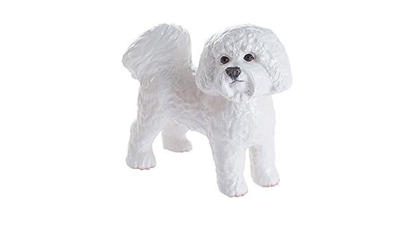 "Collectible Figurine Miniature 4.5/""L New in box Maltese Puppy Dog"