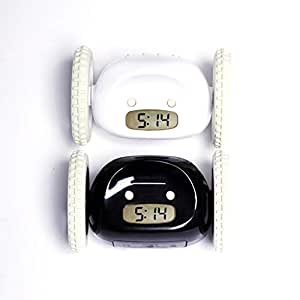 Amazon Com Clocky Rolling Alarm Clock For Adults And