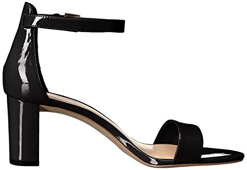 Dress Patent Nine Women's Sandal West Pruce black Black qZqgwItO
