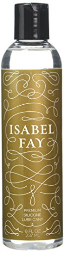 8 OZ Premium Silicone Based Personal Lubricant, Isabel Fay. FDA registered medical device. Best Silicone Sex Lube for Men and Women. Great for full body massage. Long lasting. Never sticky.
