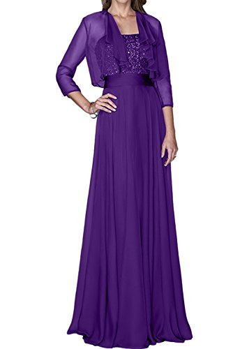 Ivydressing - Vestido - trapecio - para mujer morado 52