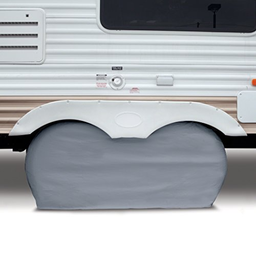 Classic-Accessories-80-107-021001-00-OverDrive-RV-Dual-Axle-Wheel-Cover-Grey-Small