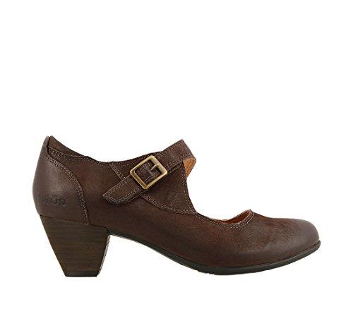 Taos Footwear Womens Studio Mary Jane Cioccolato Oliato