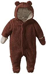 Magnificent Baby Unisex-Baby Infant Hooded Bear Pram, Mocha, 9 Months