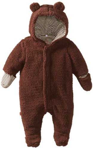 Magnificent Baby Unisex-Baby Infant Hooded Bear Pram, Mocha,