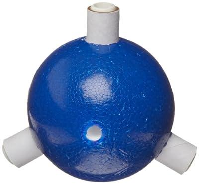 """Molecular Models Blue Polystyrene Trigonal Nitrogen Atom Center, 2"""" Diameter (Pack of 6) from Molecular Models Company"""