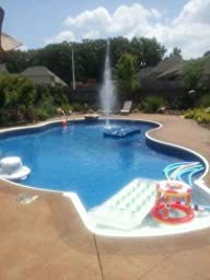 Nepta Blossoming Water Fountain Swimming Pool And Outdoor Water Toys Patio
