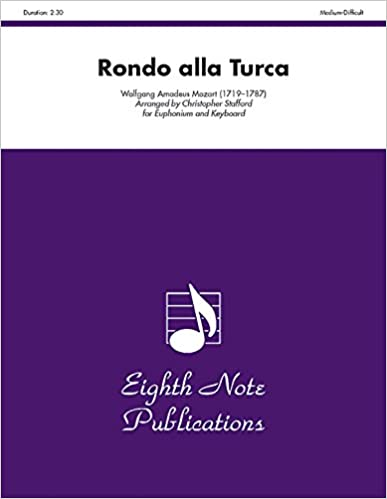 Rondo Alla Turca: Part(s) (Eighth Note Publications)