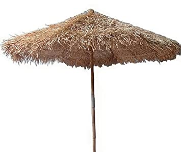 Perfect 5 Ft. Thatched Umbrella For Patio Or Beach