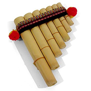 Easy to Use Antara Mini Peruvian Pan Pipes - Percussion Musical ...