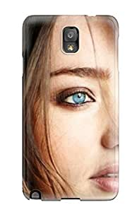 Forever Collectibles Miranda Kerr Female Celebrity Hard Snap-on Galaxy Note 3 Case