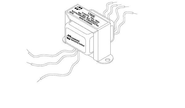 hammond 1760h transformer tube guitar output amazon 24V Thermostat Wiring Diagram
