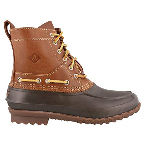SPERRY Men's Decoy Boot Rain, Brown, 10.5 M US