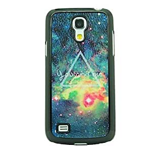 You and Me Galaxy Leather Vein Pattern Hard Case for Samsung Galaxy S4 Mini I9190