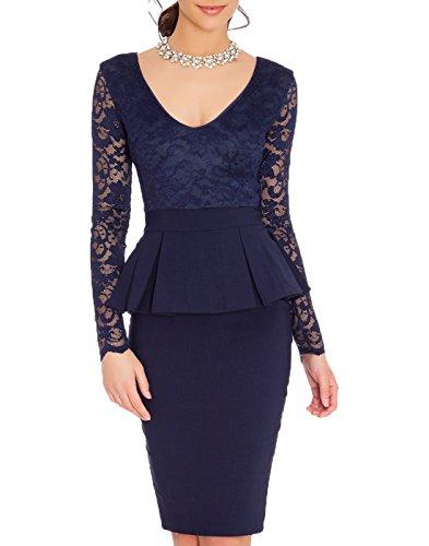 Buy below the knee length cocktail dresses - 9