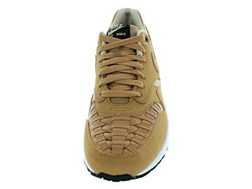 Nike Mens Air Max 1 Vävt Svart / Skiffer 725.232-200 Svart / Skiffer