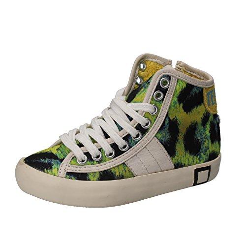 D.A.T.E. (DATE) Sneakers Bambina 26 EU Multicolore Tessuto Pelle