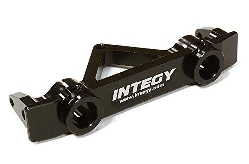 Integy Alloy Rear Bumper (Integy RC Model Hop-ups C26639BLACK Billet Machined Alloy Rear Bumper Mount 43mm for SCX-10 Dingo, Honcho & Jeep)