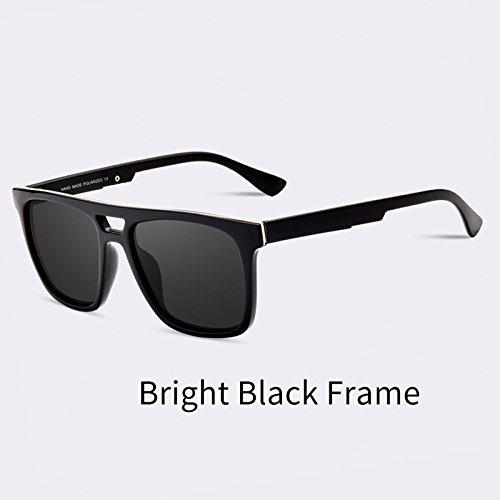 masculinos sol TIANLIANG04 C01 sol C01 polarizadas Unisex Eyewear Gafas de la para Piazza UV400 D'epoca Guía de Oculos gafas gwwCBfzqx