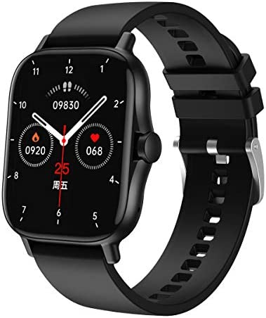 ATGTGA Smart Watch for Android/iOS Phone(Receive/Make Calls,1.63Inch,Bluetooth) 10+Sports Mode,IP67 Waterproof Fitness Tracker with ,Stress Monitor,Cardio Watch for Women Men