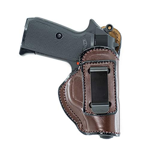 Maxx Carry IWB Leather Gun Holster for Ruger LCP
