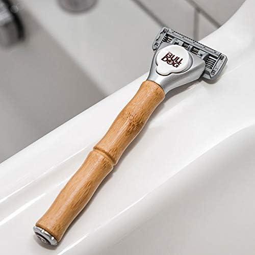 Bulldog Skincare - Cuchillas de afeitar de bambú (4 unidades ...