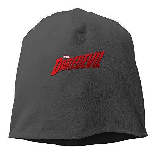 Biubui Daredevil Logo Adult s Stretch Beanie Skull Cap Knit Hat 3bdb8cc93b95
