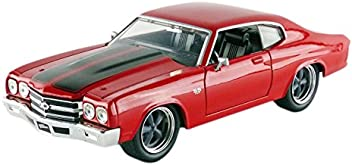 Jada Toys Fast & Furious 8 1:24 Diecast-'70 Chevy Chevelle SS Vehicle, Yes