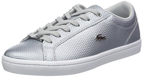 318 2 Wht Straightset Lacoste Women's Caw Trainers White 19l Slv wvnE6tqFWT