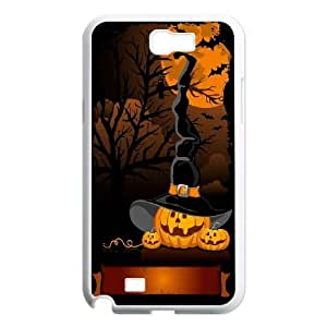 Halloween Pumpkins Witch Hat Samsung Galaxy N2 7100 Cell Phone Case White toy pxf005_5774667