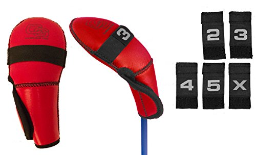 Club Glove Golf Hybrid Club Head Cover (Red) -