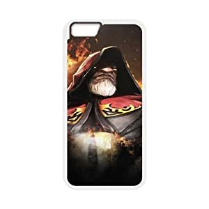 iPhone 6 Plus 5.5 Inch Cell Phone Case White Defense Of The Ancients Dota 2 WARLOCK 005 PD5430416