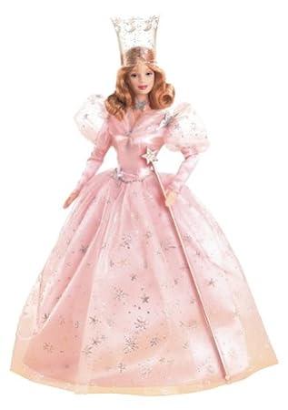 Amazon.com: Wizard of Oz: Glinda, The Good Witch Barbie Doll: Toys ...