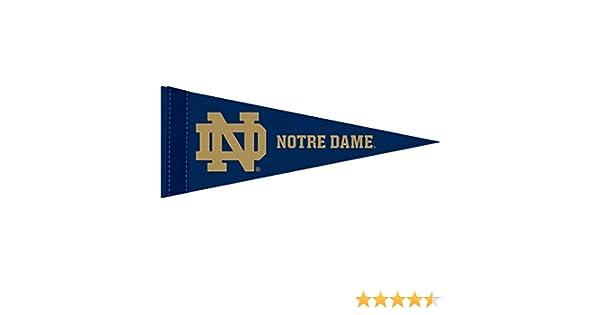 Notre Dame Shamrock 12x30 Felt Pennant