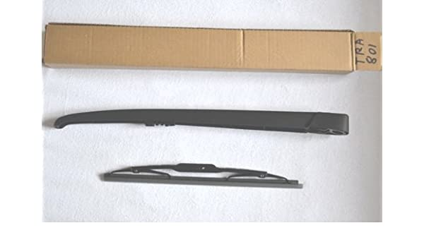 Escobilla limpiaparabrisas trasera y brazo de limpiaparabrisas: Amazon.es: Coche y moto