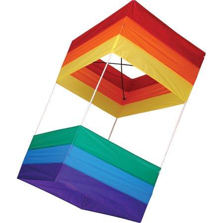 amazon com traditional box kite 20 x 40 toys games