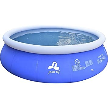 JILONG JL010217NG - Piscina (Piscina Hinchable, Círculo, 11621 L, PVC, 4, 5 m, 1060 mm): Amazon.es: Jardín