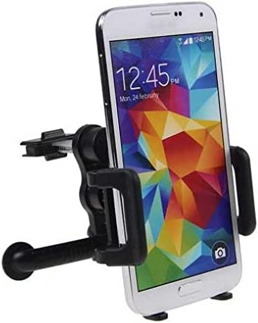 Note 8 9 J7 S7 S8 S9 S10 Plus S10e A10 A20 A9 Car Mount AC Air Vent Phone Holder Rotating Cradle Dock Vehicle Swivel Stand Compatible with Samsung Galaxy J3 J5