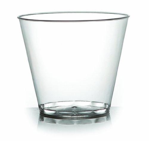 Clear Squat Tumbler - Fineline Settings Savvi Serve Clear  Tumbler 9 oz. Tumbler-Squat  500 Pieces