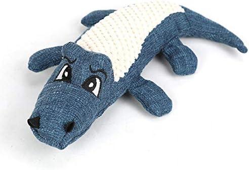 Puppy Kauwspeelgoed Cartoon Giraf Pluche Honden Speelgoed Huisdieren Interactief Duurzaam Hondenspeelgoed Tanden reinigen Hondenspeelgoed voor kleine grote hondenblauween maat