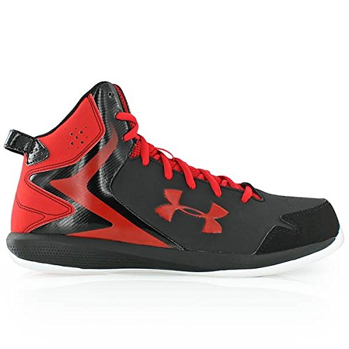 Under Armour Stock Quote Today: Under Armour Mens UA Lockdown Sneaker Black/Red/White 8 D