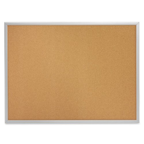 Cork Wall Mounted Bulletin Board Size: 3' H x 5' W