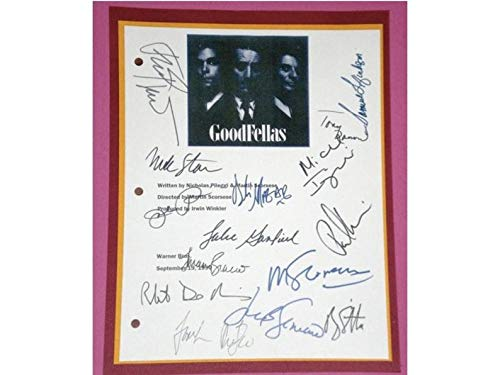 NHMug Goodfellas 1990 Movie Script Signed Poster Funny Gift Ideas Men Woman [No Framed] Poster Home Art Wall Posters (24x36) -