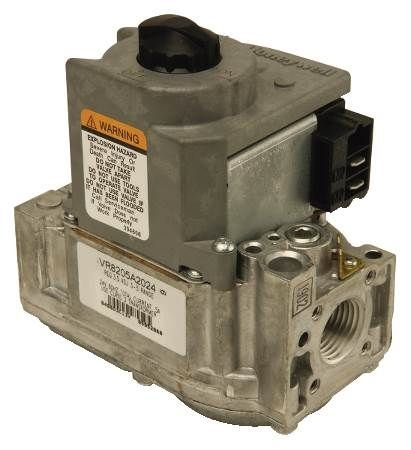 """Honeywell Dual Direct Ignition Gas Valve Vr8205h1003, W/ 1/2""""X1/2"""" Slow 35"""" Wc"""