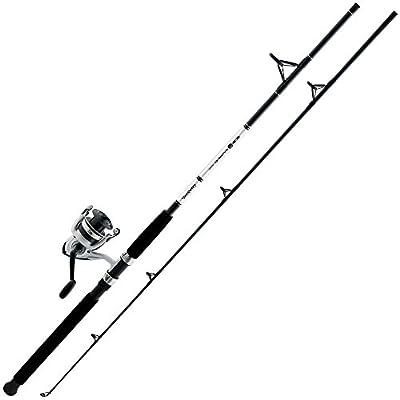 Daiwa D-Wave DWB45-B/F802M 8' Dwb-B Reel Amd Fiberglass Rod Combos