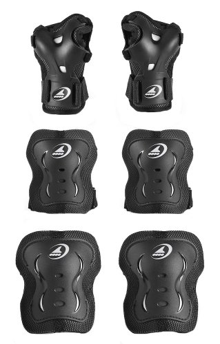 rollerblade-junior-bladegear-xt-protective-gear-3-pack-black-x-small
