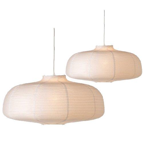 2 Ikea Vate Pendant Lamps ()