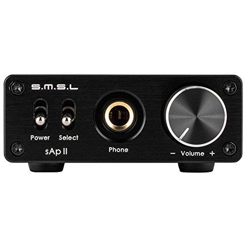 SMSL SAP-II PRO Headphone Amplifier Portable High Fidelity AMP 3.5mm/RCA