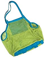 SySrion? Brand and New Sand Away Beach Mesh Bag Tote (Swim, Toys, Boating. Etc.) Stay Away From Sand --Xl Size (Green)